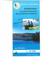 CARTE DE RANDONNEES